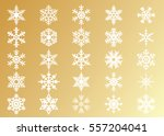 snowflake vector icon... | Shutterstock .eps vector #557204041