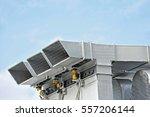 industrial steel air... | Shutterstock . vector #557206144