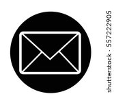 email symbol icon | Shutterstock .eps vector #557222905