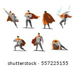 vector illustration set of... | Shutterstock .eps vector #557225155