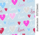 pattern in heart. vector.   Shutterstock .eps vector #557226661