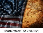 usa flag vintage background | Shutterstock . vector #557230654