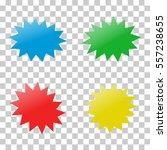 explosion. icon. vector... | Shutterstock .eps vector #557238655