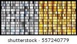 silver gold gradient background ... | Shutterstock .eps vector #557240779