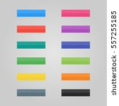set of colored buttons. web... | Shutterstock .eps vector #557255185