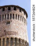 tower of medieval italian... | Shutterstock . vector #557264824