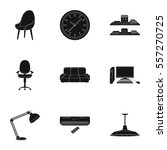 office furniture and interior... | Shutterstock .eps vector #557270725