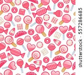 different sweets icons  ... | Shutterstock .eps vector #557286685
