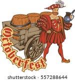 oktoberfest celebration design...   Shutterstock .eps vector #557288644