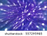 abstract blue fractal... | Shutterstock . vector #557295985