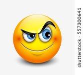 cute curious emoticon  emoji  ...   Shutterstock .eps vector #557300641