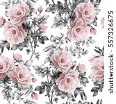 seamless pattern with pink... | Shutterstock . vector #557326675
