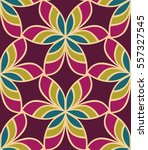 seamless pattern morrocan... | Shutterstock .eps vector #557327545
