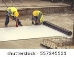 preparing for foundation... | Shutterstock . vector #557345521