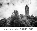william wallace monument  | Shutterstock . vector #557351305