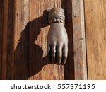 Hand Shaped Door Knocker ...