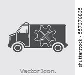 car service icon isolated sign... | Shutterstock .eps vector #557376835