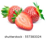 Perfectly retouched strawberry...