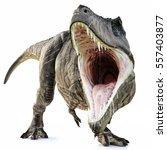 A Tyrannosaurus Rex Attack On...
