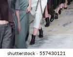 fashion show  a catwalk event ... | Shutterstock . vector #557430121