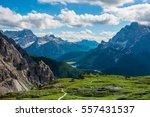 famous italian national park... | Shutterstock . vector #557431537