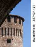 tower of medieval italian... | Shutterstock . vector #557434414