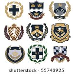 badge | Shutterstock .eps vector #55743925