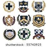 badge | Shutterstock .eps vector #55743925