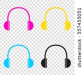 headphones sign illustration....