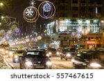 bucharest  romania   january 08 ... | Shutterstock . vector #557467615