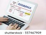 warranty assurance guarantee... | Shutterstock . vector #557467909
