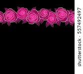 vector seamless pattern of...   Shutterstock .eps vector #557492497