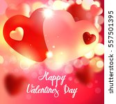 valentines day. valentines day... | Shutterstock .eps vector #557501395