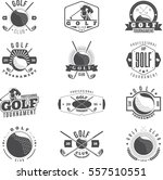 golf tournament black... | Shutterstock .eps vector #557510551