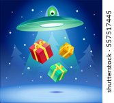 gift kidnapping | Shutterstock .eps vector #557517445