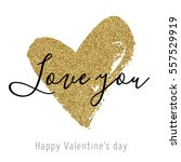 Vector Gold Glitter Heart....
