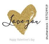 Vector Gold Glitter Heart....