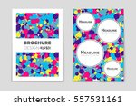 abstract vector layout... | Shutterstock .eps vector #557531161