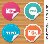 round stickers or website... | Shutterstock .eps vector #557531785