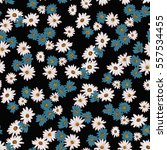 seamless floral pattern in... | Shutterstock .eps vector #557534455