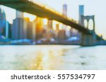 defocused view of the new york... | Shutterstock . vector #557534797