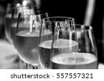 glasses of wine | Shutterstock . vector #557557321