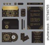 corporate identity template...   Shutterstock .eps vector #557560705