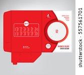 business folder  design cover... | Shutterstock .eps vector #557561701