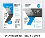 business brochure design.... | Shutterstock .eps vector #557561995