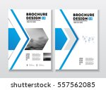 business brochure design.... | Shutterstock .eps vector #557562085