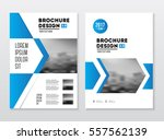 business brochure design.... | Shutterstock .eps vector #557562139
