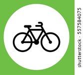bike bycicle velo sport black... | Shutterstock .eps vector #557584075
