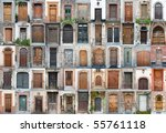 Set Of 55 Old Doors And Gates...