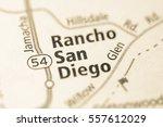 rancho san diego. california.... | Shutterstock . vector #557612029